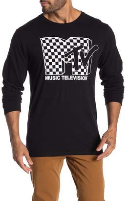 Fifth Sun Iconic Checkered Logo Long Sleeve T-Shirt