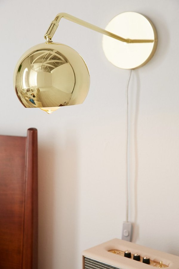 Urban Outfitters Long Neck Gumball Sconce - ShopStyle Home