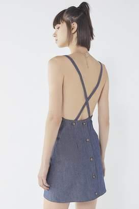 Urban Renewal Vintage Remnants Denim Apron Dress