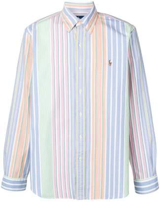 faa739ba1 Polo Ralph Lauren colour-block striped shirt
