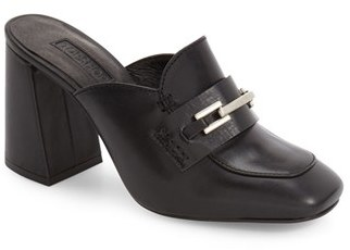 Topshop Women's Topshop 'Grade' Loafer Mules