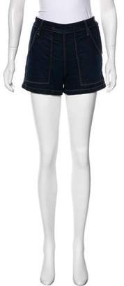 Frame Antibes Mid-Rise Shorts