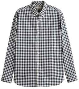 Mango man MANGO MAN Regular-fit gingham check shirt