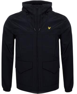 Hooded Shell Jacket Black