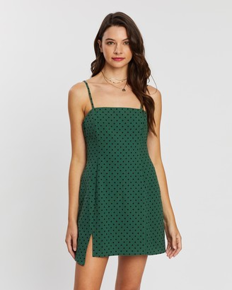 MinkPink Rock Star Polka Dot Dress