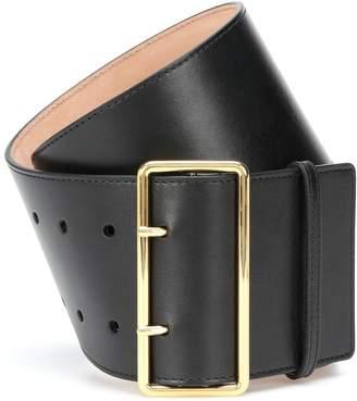 3d29601b8f Wide Black Leather Belt - ShopStyle UK