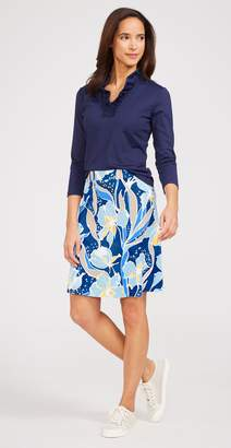 J.Mclaughlin Ainsley Skirt in Pacific Pansy