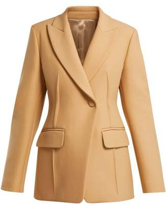 Joseph Sampson Single Breasted Blazer - Womens - Camel