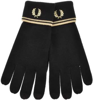 Fred Perry Twin Tipped Touch Screen Gloves Black
