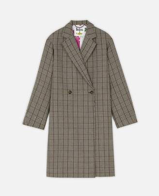 Stella McCartney Check Coat, Women's