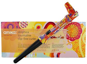 Amika Obliphica Tourmaline Clip-Free Curler