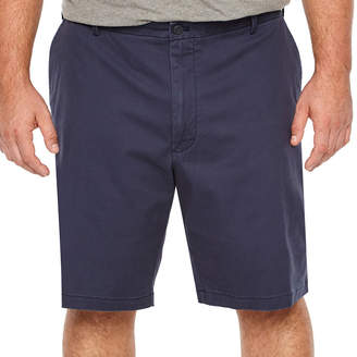 Izod Saltwater Stretch Short Mens Stretch Chino Short-Big and Tall