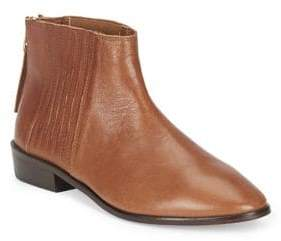 Kenneth Cole Reaction Loopy Leather Booties