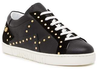 Moschino Leather Studded Sneaker