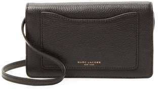 Marc Jacobs Women's Leather Recruit Wallet Crossbody Bag