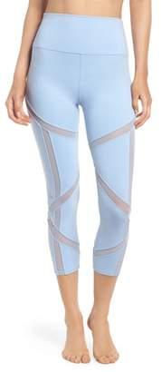 Alo Laced High Waist Capri Leggings