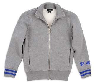 Diesel Boys' Fleece Zip-Up Jacket - Big Kid