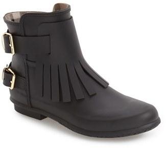 Women's Burberry 'Fritton' Kiltie Rain Boot