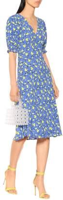 Diane von Furstenberg Jemma floral crepe midi dress