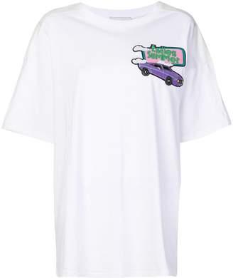Mira Mikati car patch oversized T-shirt