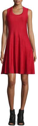 NIC+ZOE Twirl Sleeveless Knit Dress, Red, Petite $198 thestylecure.com
