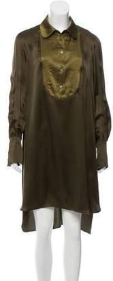 Mantu Silk Long Sleeve Dress w/ Tags