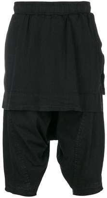 Julius drop-crotch shorts