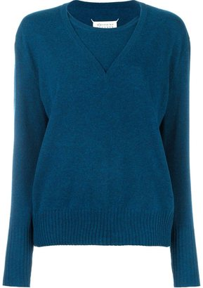 Maison Margiela layered effect sweater $1,285 thestylecure.com