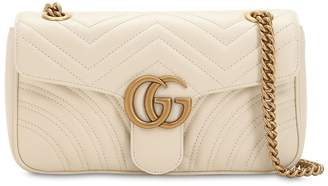 Gucci Small Gg Marmont 2.0 Leather Bag