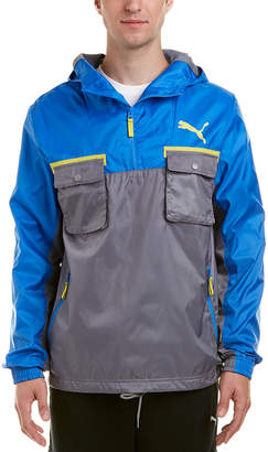 Puma Me Palace Blue & Steel Grey Anorak