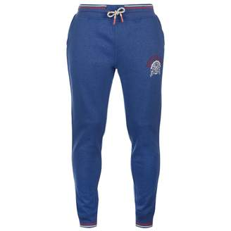 Soul Cal SoulCal Mens Deluxe Tipped Jogging Pants Jersey Bottoms Trousers Print