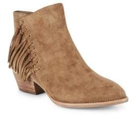 Ash Lenny Fringed Suede Booties
