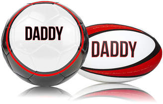We Print Balls Daddy Or Dad's Rugby Ball