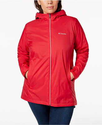 Columbia Plus Size Switchback Lined Rain Jacket