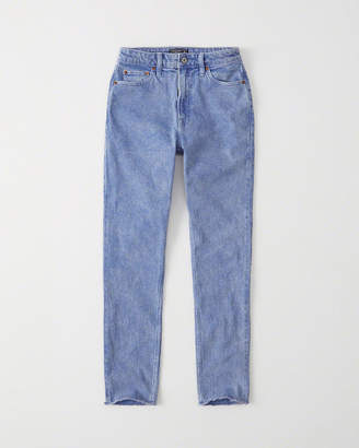 Abercrombie & Fitch Blue High Rise Slim Jeans