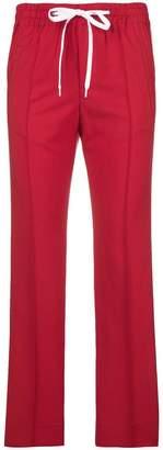 Miu Miu side-stripe track pants