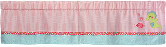 Carter's Sea Colorblocked Geo-Print Embroidered Applique Window Valance Bedding