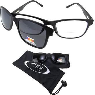 proSPORTsunglasses Polarized Bifocal Readers. Bifocal Glasses & Easy Magnetic Polarized Clip-On