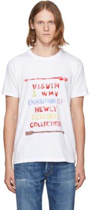 Visvim White Vintage Stencil T-Shirt
