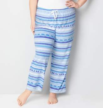 Avenue Nordic Print Fleece Pant