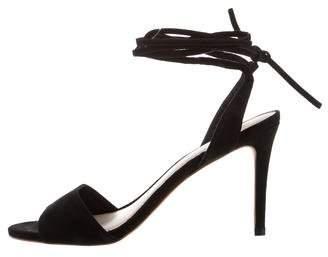 Loeffler Randall Suede Lace-Up Sandals