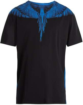 Marcelo Burlon County of Milan Double Wing-print cotton T-shirt