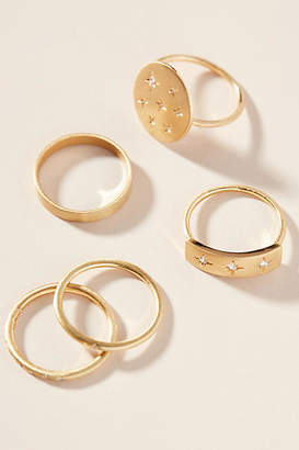 Anthropologie Bethany Ring Set