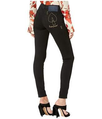 Vivienne Westwood High-Waist Slim Jeans in Black