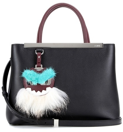 Fendi 2Jours Small leather tote