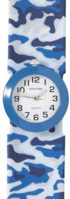 NEW Milkshake Camo Slap Band Boxed Watch Blue