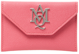 Alexander McQueen Insignia Leather Card Holder