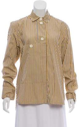 Marni Oversize Striped Top