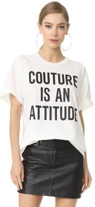 Moschino Oversized T Shirt $225 thestylecure.com