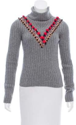 Altuzarra Embellished Wool & Cashmere-Blend Sweater